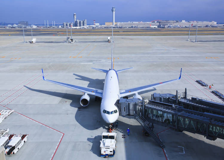 從東京到大阪③飛機:移動時間短
