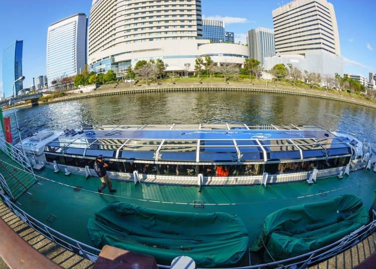 大阪夏天行程必知4.想要渡過個愉快的水上巴士時間,記得要多留點空餘時間