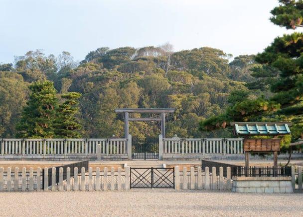 2.世界遺産になった古墳群を上から眺める