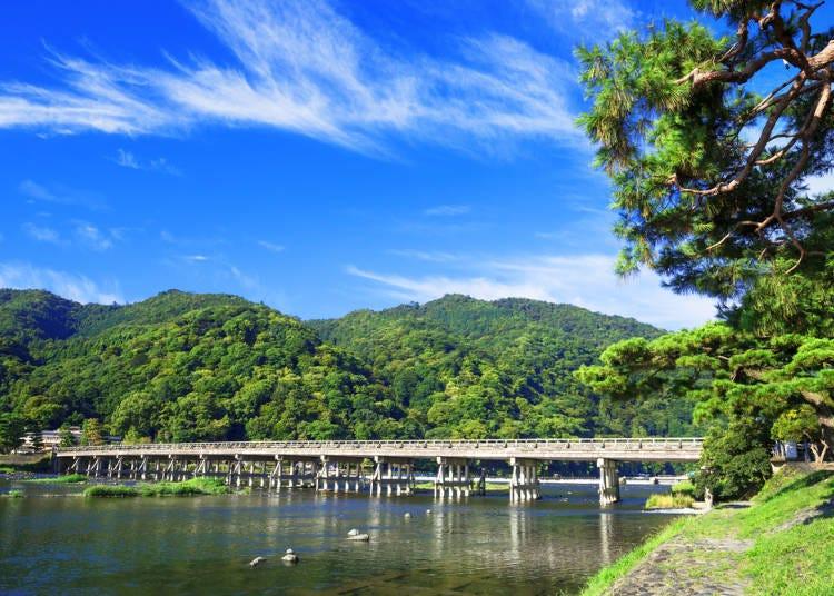 2.保津川沿いで涼しい風を浴びながら楽しむ観光馬車