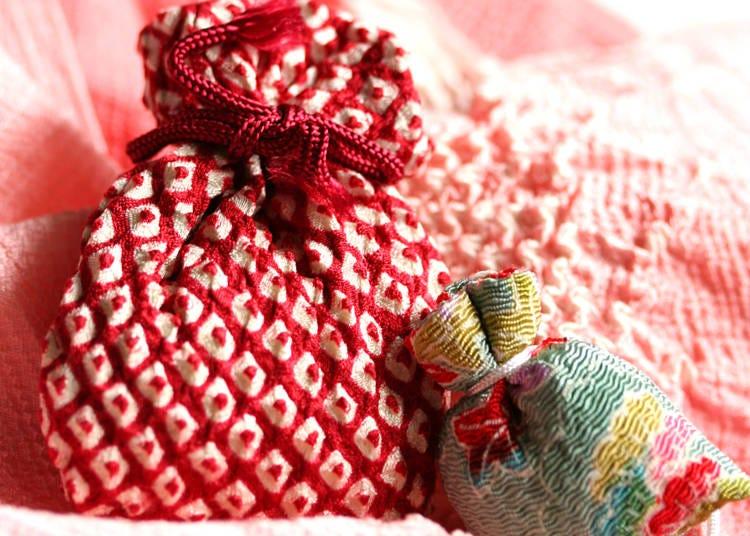 10.自分好み香りを調合する手作りの匂い袋