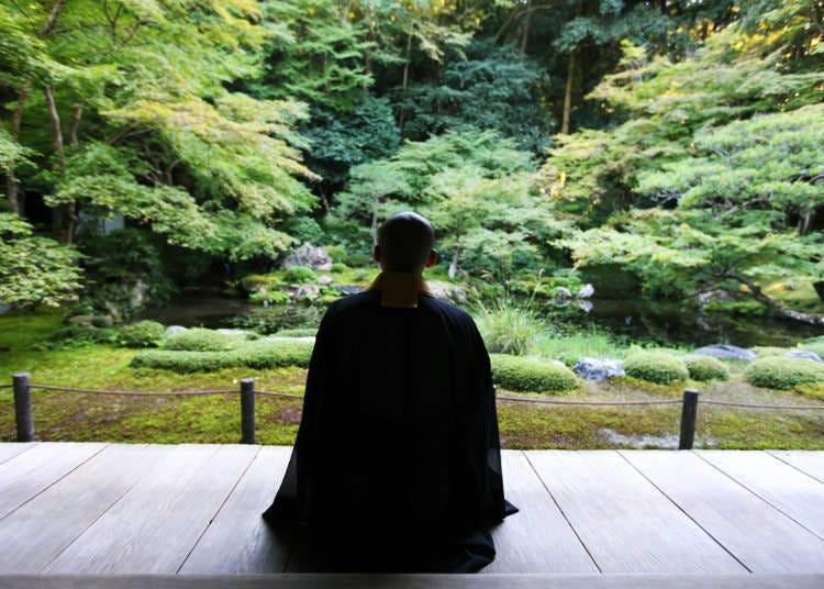 京都夏天行程必做9. 參加可「滅卻心頭火亦涼」的打坐體驗