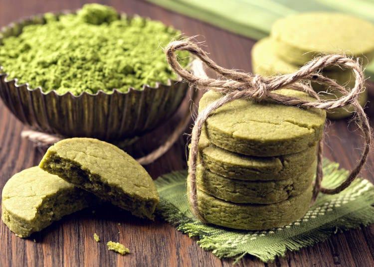 Matcha Flavored Sweets