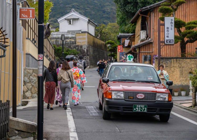 교토의 신사와 사찰, 솔직히 교통은 불편해…