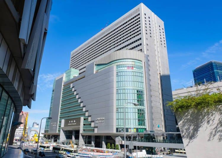 ■JR大阪駅直結で便利な「大丸梅田店」