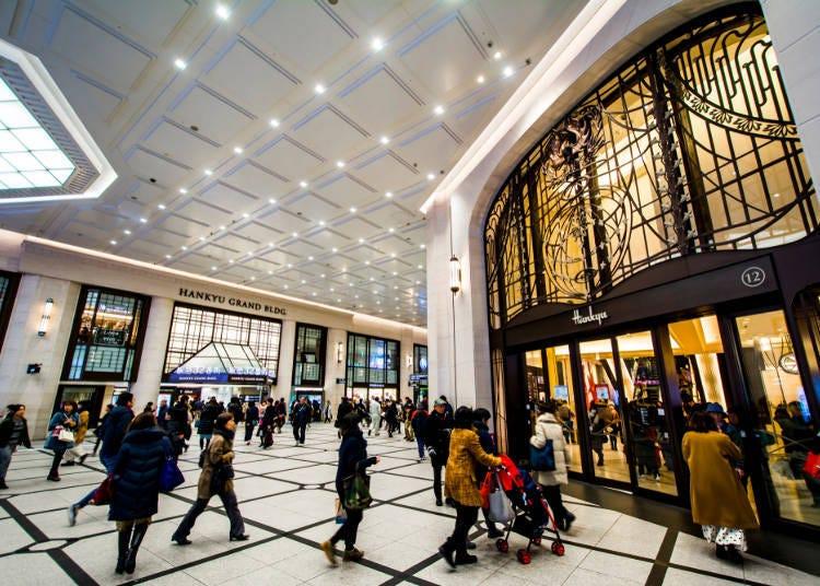 ■梅田購物景點①享受時尚的話,就選「阪急梅田總店」吧!
