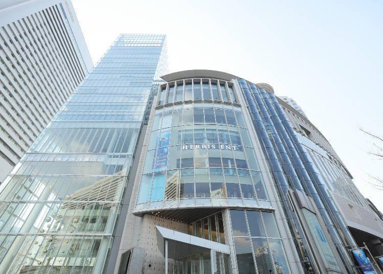 ■梅田購物景點⑧品牌直營店大集合的「HERBIS PLAZA」