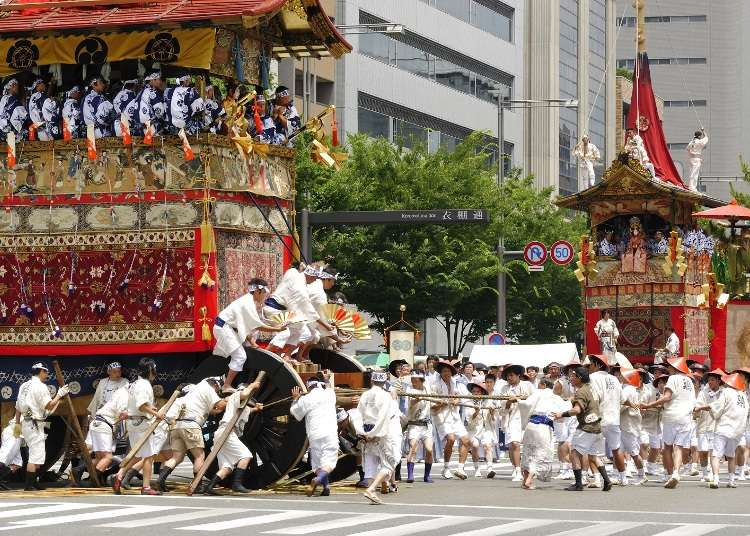 日本三大祭!京都「祇園祭」的8大看點、交通、日程全攻略