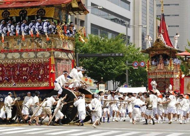 Top 8 things to see at the Gion Matsuri