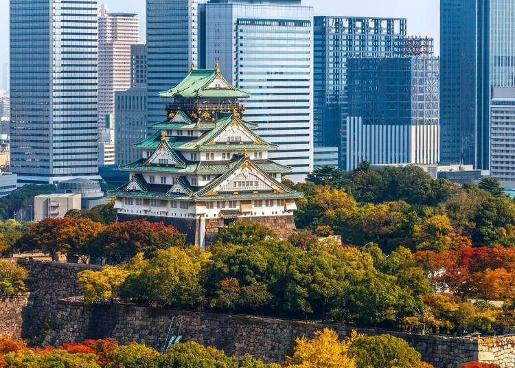 2. Osaka Castle Park, Morinomiya Station