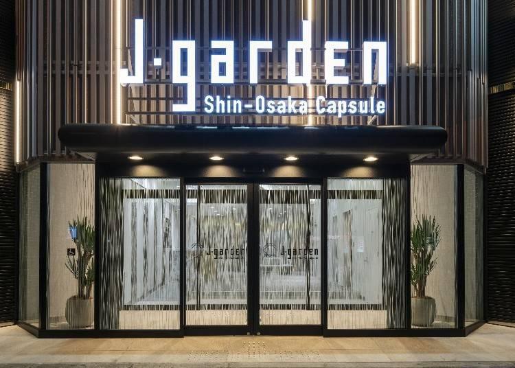 2. J-garden Shin-Osaka Capsule (제이가든 신오사카 캡슐)