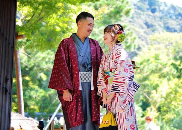 ■4:お気に入りの着物姿で大阪を散策する