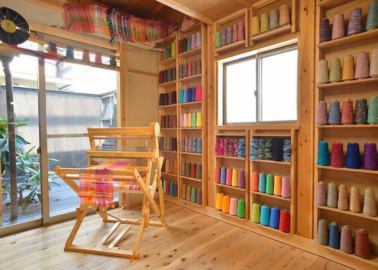 梅田必玩清單8:製作獨一無二的藝術紡織物