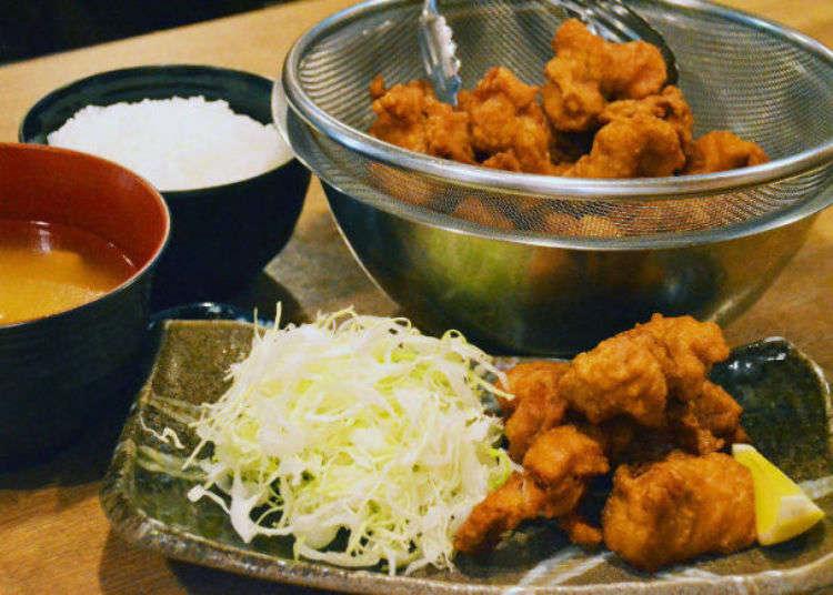오사카 여행 - 점심식사를 위한 가성비 좋은 500엔 이하 가게 3곳