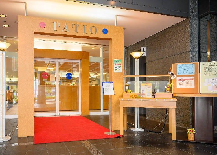 京都超值午餐②研究者學者進出的商業設施內「RESTAURANT PATIO」