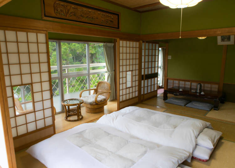 Q. Which is Best to Stay at a Japanese-Style Ryokan Inn?