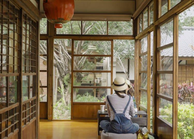 Q:想在美景咖啡廳度過優雅時光,該選大阪還是京都?