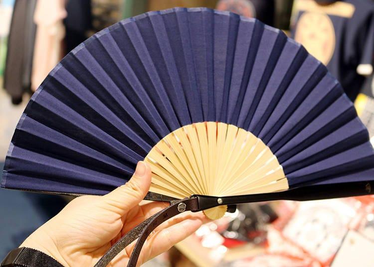 5. Nishikawa Shoroku Shoten Strap Fan: A Strap for Active Use