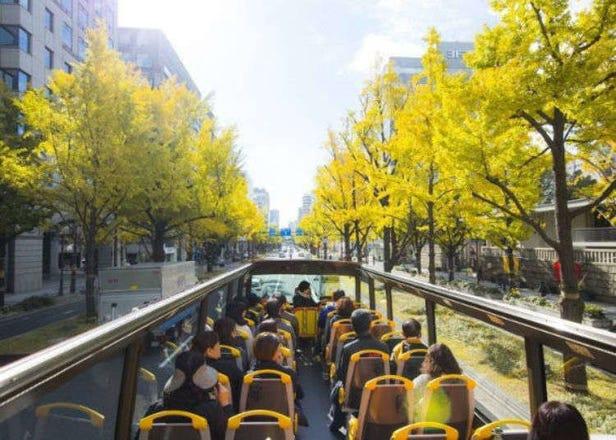 오사카 여행 - 오사카를 간편히 둘러보는 버스가 있다!