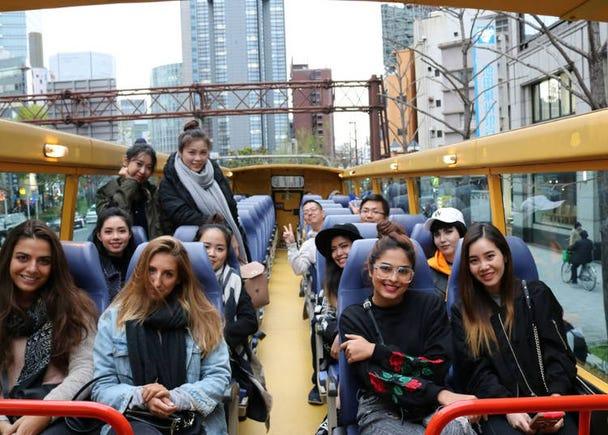 ■2:「大阪ワンダーループバス」14ヶ所を結び、何度でも乗り降りできる大阪唯一の観光ループバス