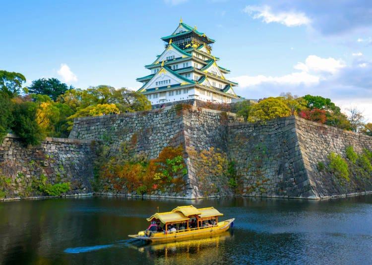 大阪免費景點推薦8.【大阪】到大阪的代表名勝「大阪城公園」散散步