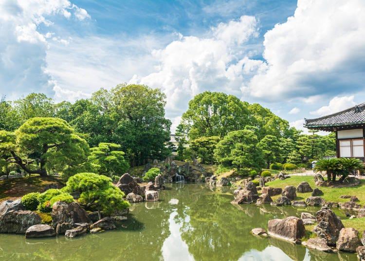 1. 【이마데가와】'교토 교엔'의 수려한 자연경관과 역사적 건축물을 감상