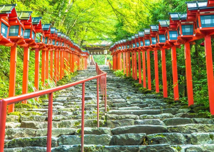 京都免費景點⑧【鞍馬】掌管水的守護神,能量景點「貴船神社」