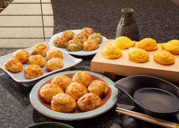 5. Make Your Own Takoyaki! Takoyaki Takomasa