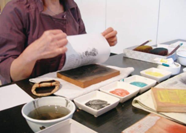 7. Become an Ukiyo-e Artist! Kamigata Ukiyoe Museum