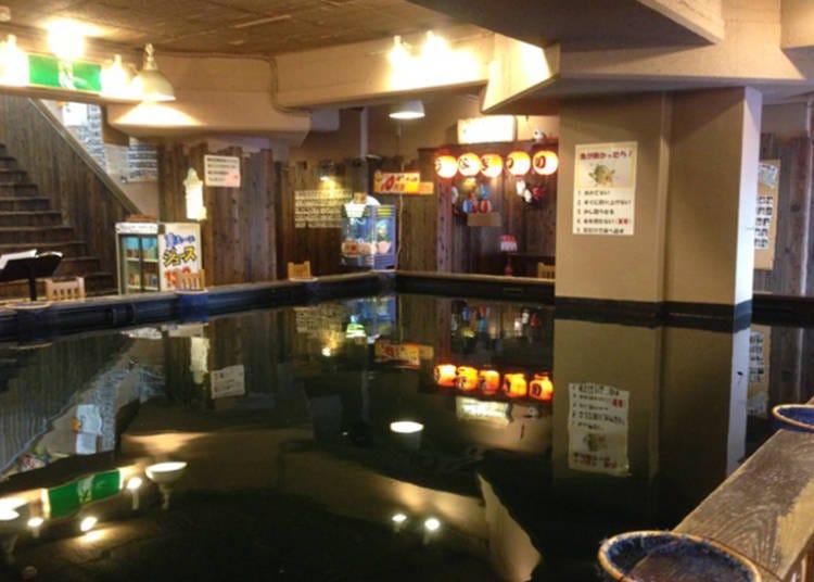 道頓堀推薦必去景點⑨體驗釣魚樂趣的「道頓堀釣堀」