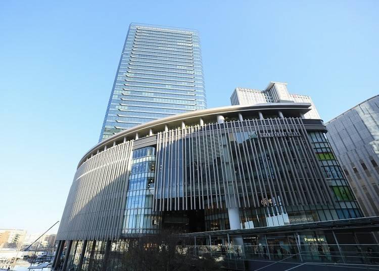1.「グランフロント大阪」で洗練ショッピング