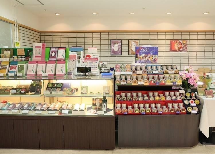 日本茶のおいしさを発見「宇治園」(南館B2F)