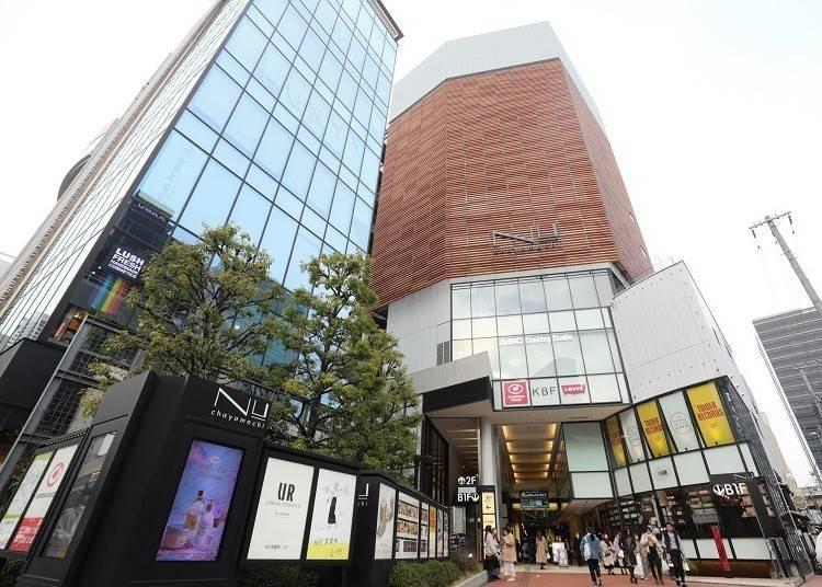 5.「NU chayamachi」에서 센스 있는 쇼핑