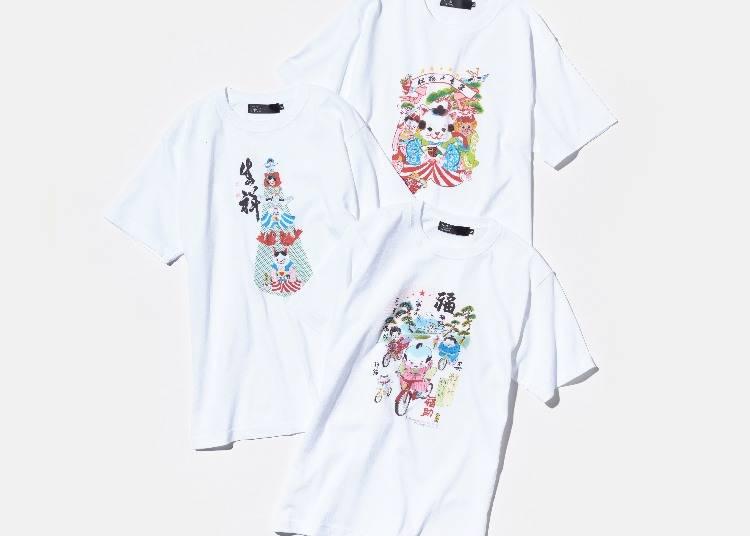 7)犬ん子×BEAMS JAPAN Tシャツ
