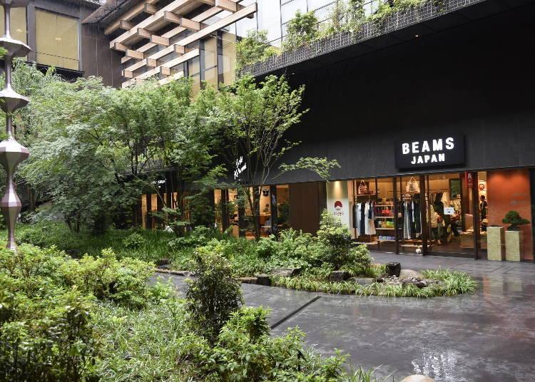 ■서일본 1호점 'BEAMS JAPAN KYOTO'의 개요
