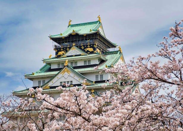 오사카의 벚꽃명소 총정리 10선! 오사카 성 공원과 시텐노지 등 국내 유수의 명소가 많아!
