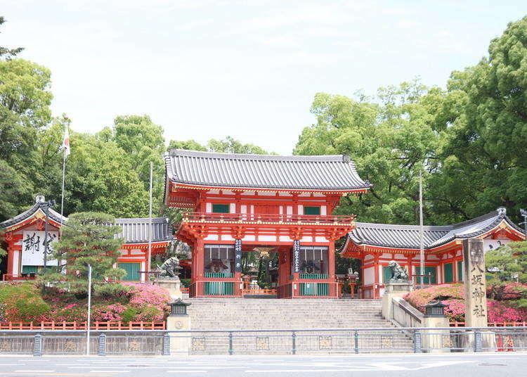 京都祇园景点10选+推荐漫步行程:祇园四条〜鸭川〜花见小路〜八坂神社