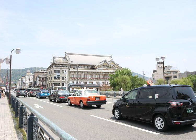 祇園へ行くための交通アクセス