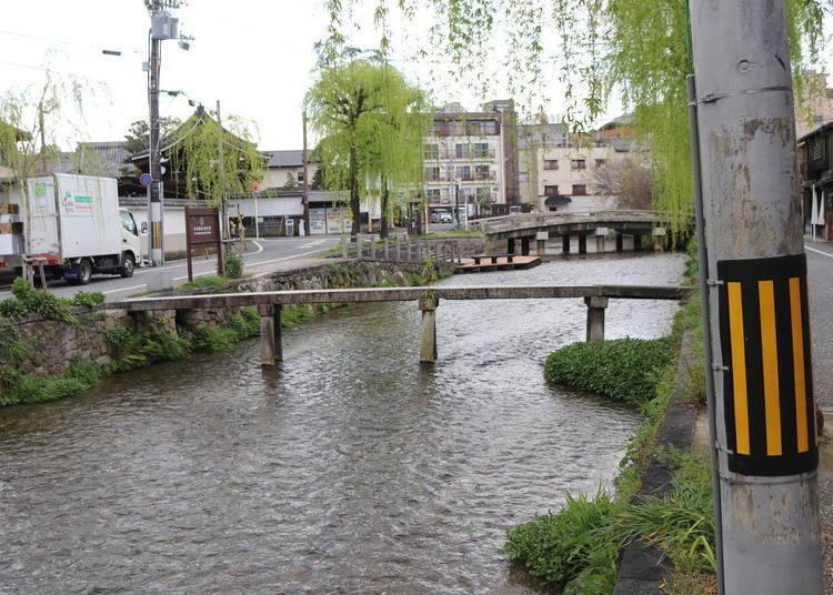 祇园景点⑧白川(一本桥)