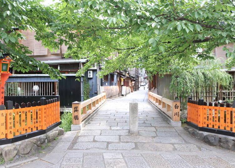 祇园景点⑨巽桥と辰巳大明神