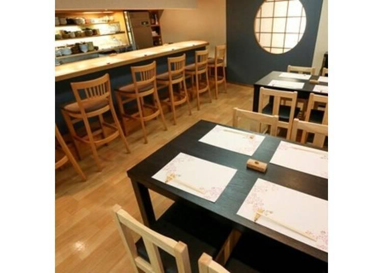 1. 다카세 강변에서 교토의 가정식을 맛볼 수 있는 '오반자이 사쿠라가와'