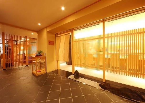 3.ホテルで堪能する高級感「日本料理 嵯峨野」