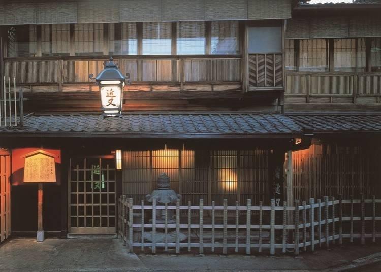5.あちこちに歴史が香る京都の名店「懐石 近又」