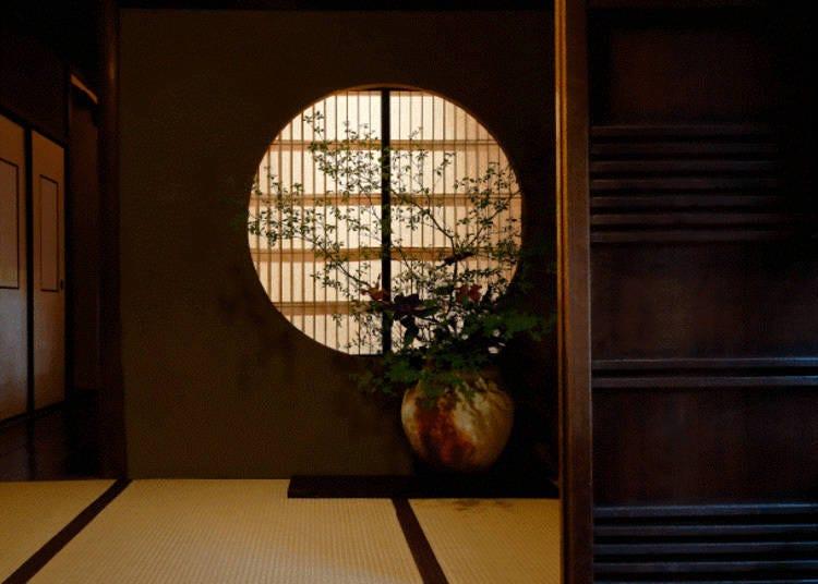京都懐石料理⑤古老日式茶室氛圍「津田樓」