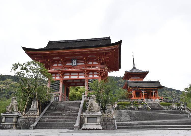 到清水寺玩,不要忘了逛逛一年坂、二年坂、三年坂唷