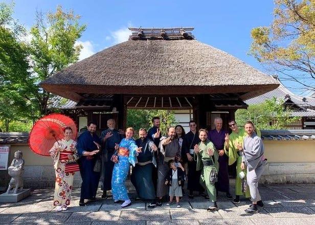 8 Best Places for Kimono Rental in Kyoto Near Kiyomizudera Temple
