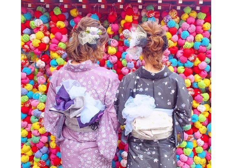 1.アンティーク着物やオリジナル小物が豊富「梨花和服 清水寺店」