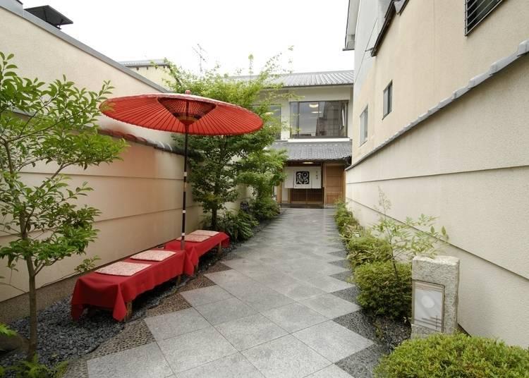 7. Nichigetsuan: Elegant Kyoto Kaiseki at a reasonable price