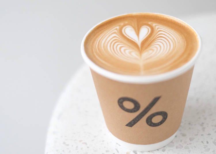 10. % Arabica Kyoto Higashiyama: Fresh coffee and beautiful latte art
