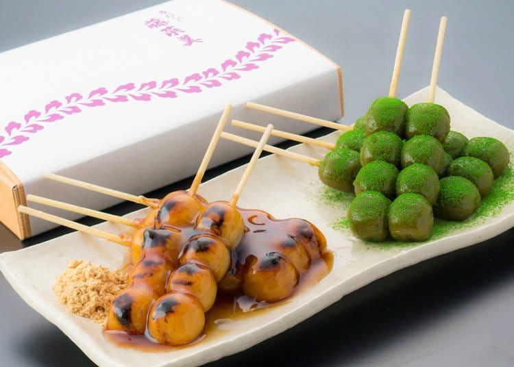 清水寺周邊美食⑦「京糰子 藤菜美 高台寺店」守護傳統京都味的手工糰子